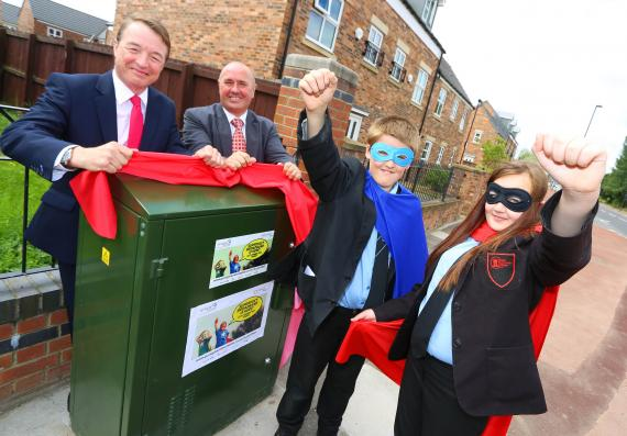 Nearly 9,000 more Newcastle homes and businesses can now get superfast broadband